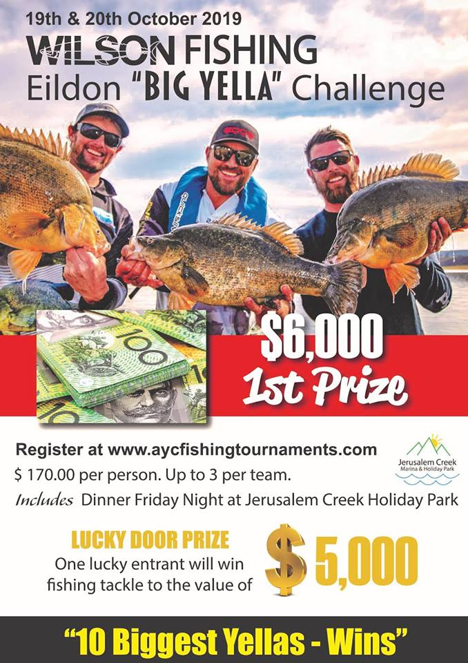 AYC Copeton Cod Classic is on again