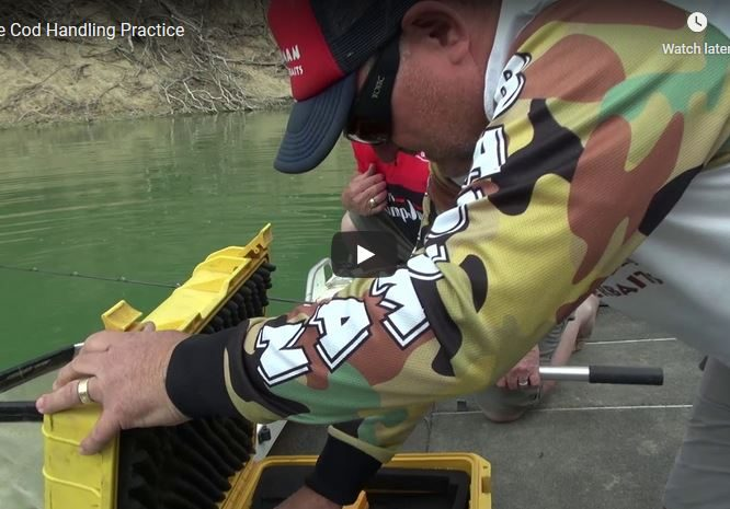 Video – Getting your catch back in the water