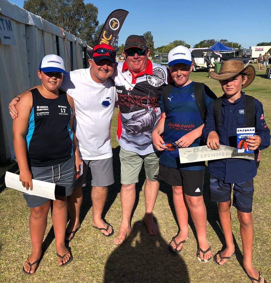 Young Fishos at the Cod Classic at Mulwala